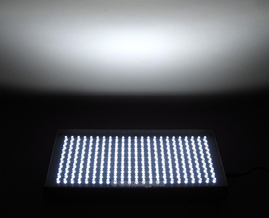 16w 230pcs white led grow light panel 100v240v 5060hz ac adaptor